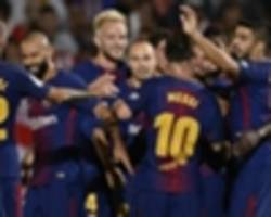 Barcelona making and breaking records as perfect start to season continues