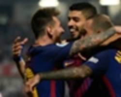 Barcelona stay seven clear of Real Madrid with Girona win