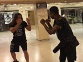 grand central station fist fight leaves man knocked out