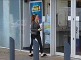 Wayne Rooney party girl is seen shopping for a new phone