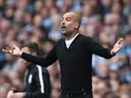 pep guardiola demands more from manchester city players