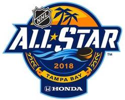 lightning, nhl release logo for 2018 all-star game
