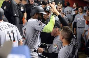 watch: marcell ozuna launches 2 homers against arizona