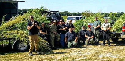 cops delete facebook post of massive weed bust after the internet corrects them