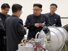 n korea hit by 3.4 tremor but china says it's an explosion