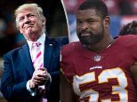 Redskins star hits back at Trump for criticism of protests