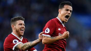 coutinho's magic helps liverpool end winless run
