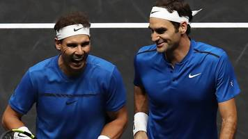 federer & nadal win as doubles partners in laver cup