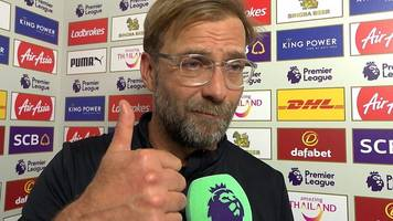 leicester 2-3 liverpool: 'three points are proof to the public we are still here'