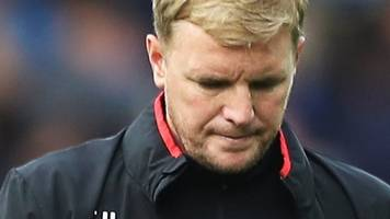 everton 2-1 bournemouth: defeat 'difficult to take' - eddie howe