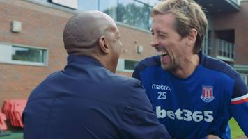 peter crouch's honest assessment of life as a sub at stoke city
