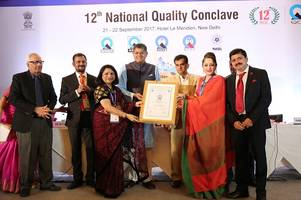 chitkara international school becomes the first school in the region to receive nabet school accreditation certificate from the quality council of india