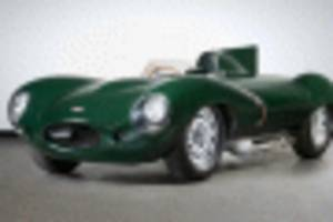 Australian auction lands a D-type with gripping history