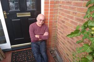 derby man finds his toilet has been flushing into his garden for 13 years