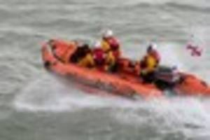 Margate lifeboat called to help a 'woman in distress' at St...