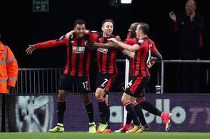 revealed! afc bournemouth player ratings on fifa 18