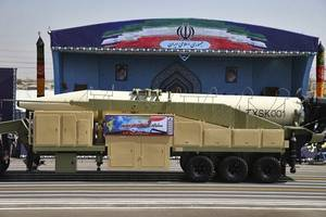 iran tests new ballistic missile a day after showing it off at military parade