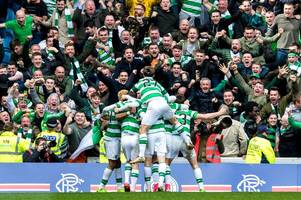 brendan rodgers says celtic's big derby triumphs have turned volume down on 'going for 55' boasts