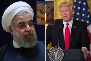 Donald Trump accuses Iran of working with North Korea after new ballistic missile test