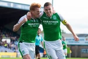 hibs climb above rangers and to within two points of second place with win at ross county - premiership round-up