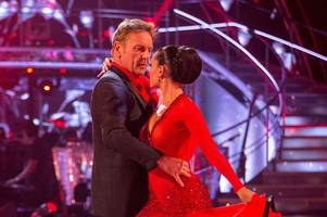 has welsh strictly dancer amy been paired with the new ed balls?