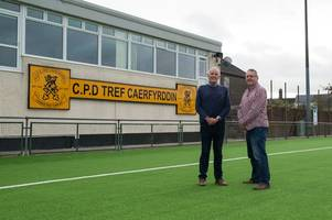 why this welsh premier league club's new £500k pitch will be for community as well as professional players