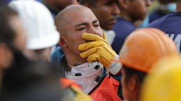 mexico earthquake: new tremor halts rescue operations