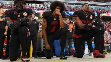 nfl: donald trump says players protesting during us national anthem should be fired