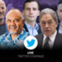 Kiwis react  on Twitter to first election results
