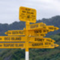 Tourist discovers famous signpost in Bluff is wrong
