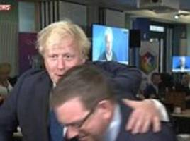 Boris Johnson hates being touched claims Labour MP