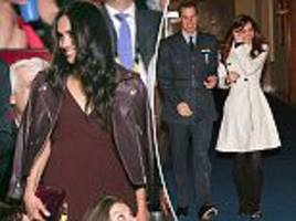 meghan markle channels inner rock chick at invictus games