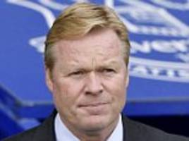 everton boss koeman hits back at 'ridiculous' speculation