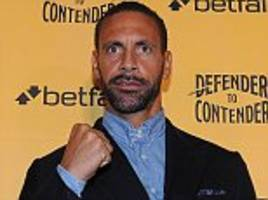 rio ferdinand's boxing move is totally understandable