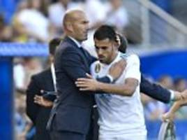 Zinedine Zidane calls for patience at Real Madrid