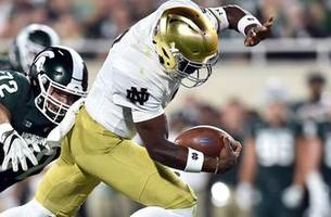 watch highlights from notre dame's 38-14 win over michigan state in 360 degrees