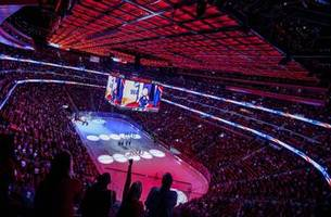 Detroit's new arena hosts Red Wings game for the 1st time