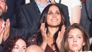 meghan markle attends as prince harry launches invictus games