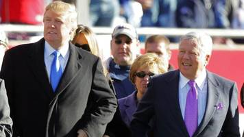 As Trump's Feud With NFL Escalates, Patriots Owner Says He Is Deeply Disappointed By President's Comments