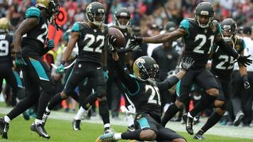 jacksonville jaguars beat baltimore ravens 44-7 at wembley
