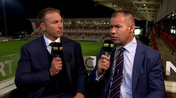 dragons players 'not at the level' - andy ward