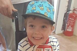 four-year-old elliott from newton abbot just wants to walk alongside his twin sister - can you help?