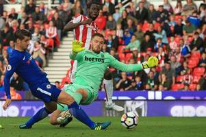 stoke city 0, chelsea 4 talking points: jack butland shows that even the best have room for improvement