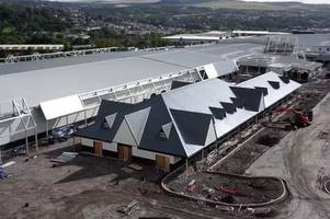 aerial tour of trago mills fourth store under construction