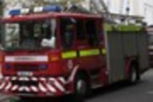 Fire crews were called to a suspected arson attack in Margate