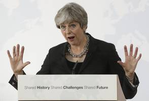 talk by u.k.'s may on eu exit strategy called 'constructive'