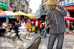 shanghai losing cryptocurrency trading market