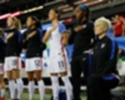 USWNT stars defy Donald Trump in racial inequality anthem protest