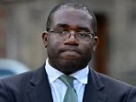 Lammy says Johnson used the 'nasty' politics of the 1930s