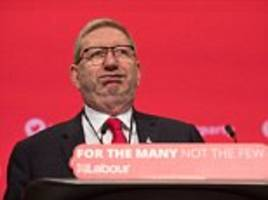 len mccluskey rages at corbyn critics at labour conference